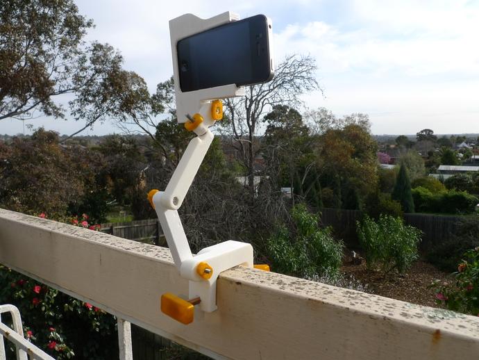 照相机座架 3D打印模型渲染图