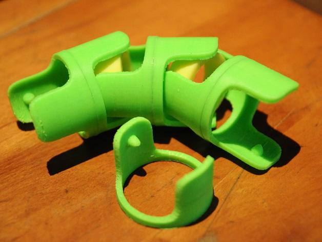 电线收纳 3D打印模型渲染图