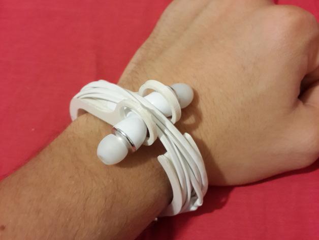耳机理线环 3D打印模型渲染图