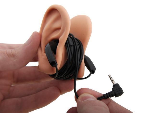 耳朵形耳机架 3D打印模型渲染图