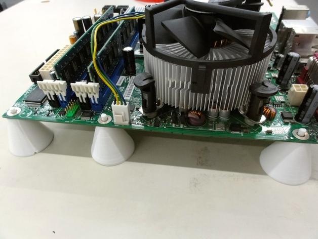 PC电脑主板支架 3D打印模型渲染图