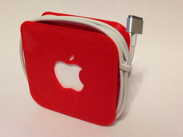 苹果笔记本电脑60瓦充电器绕线器