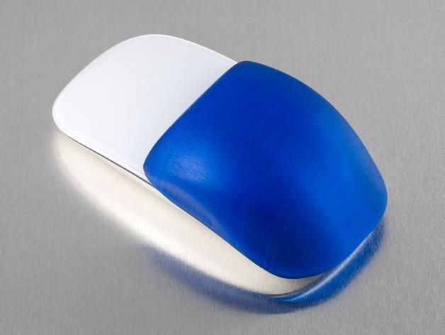 苹果无线鼠标零部件 3D打印模型渲染图