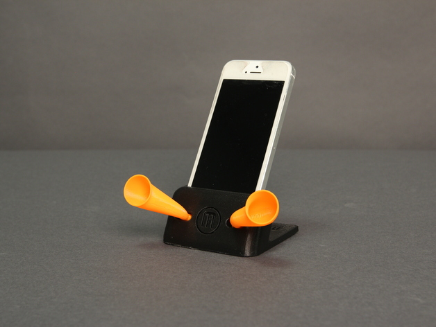 iPhone手机架 3D打印模型渲染图