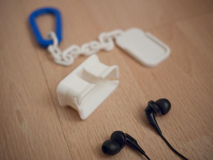 耳机收纳器 钥匙扣