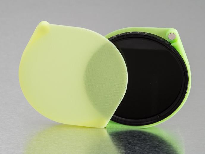相机滤镜盒 3D打印模型渲染图
