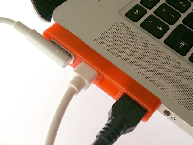 MacBook Pro苹果电脑组合插孔 3D打印模型渲染图
