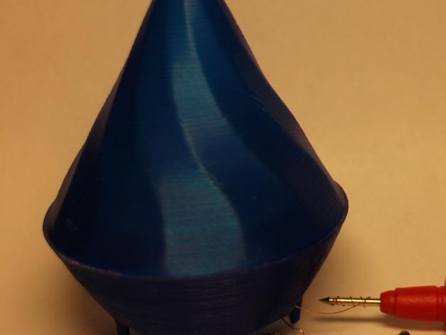 密封式扬声器 3D打印模型渲染图