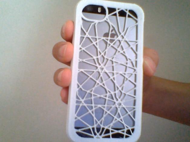 定制化iPhone5/5S手机壳 3D打印模型渲染图