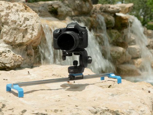 相机滑杆 3D打印模型渲染图