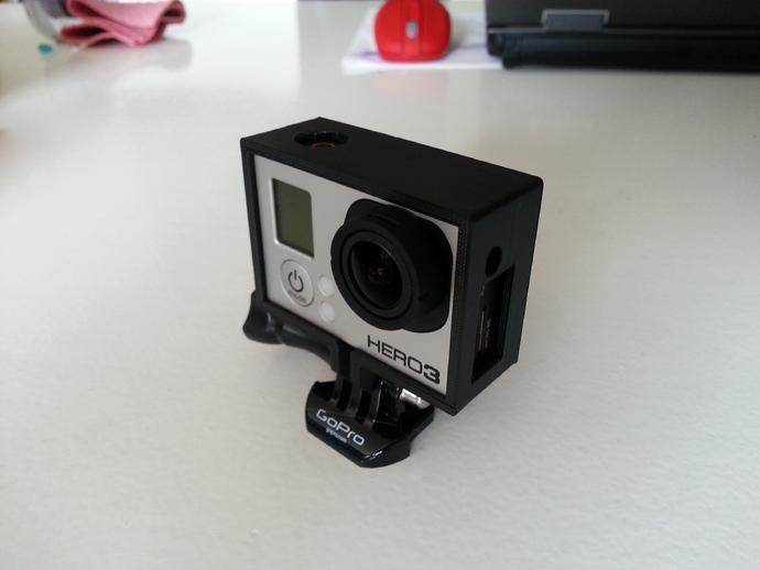 GoPro Hero 3 相机保护框