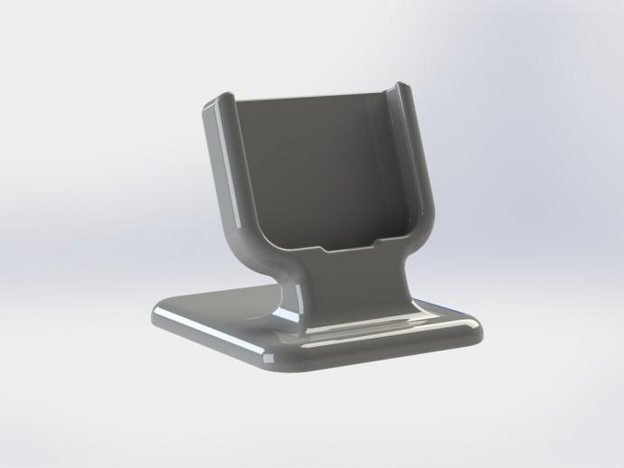三星Galaxy S4 手机支架  3D打印模型渲染图