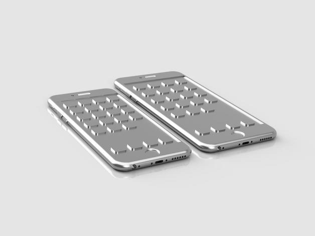 iPhone 6, 6 Plus苹果手机模型