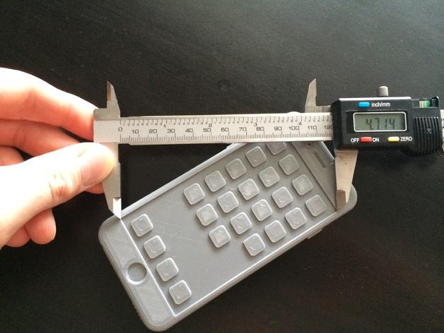 iPhone 6, 6 Plus苹果手机模型 3D打印模型渲染图