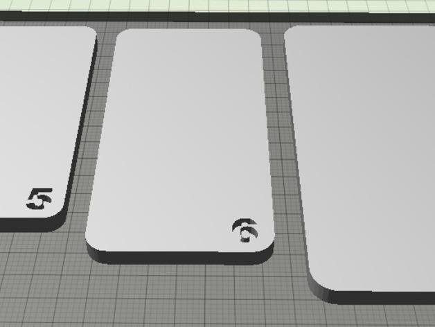 苹果手机模型  3D打印模型渲染图