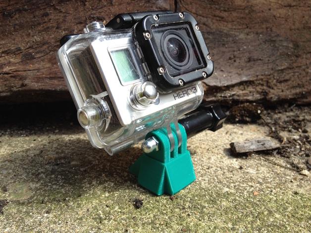 相机迷你三脚架 3D打印模型渲染图