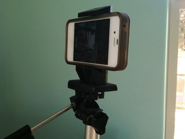 通用式手机三脚架 3D打印模型渲染图