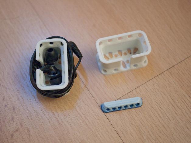 耳机收纳器 3D打印模型渲染图