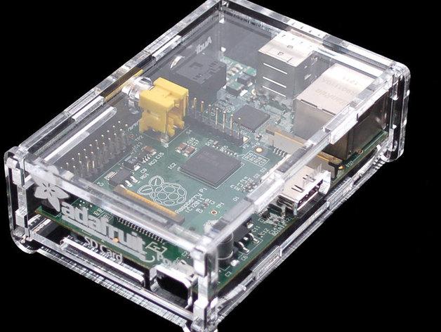 Adafruit Pi 外盒 3D打印模型渲染图