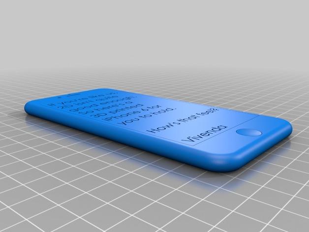 iPhone 6 / 6 plus手机模型