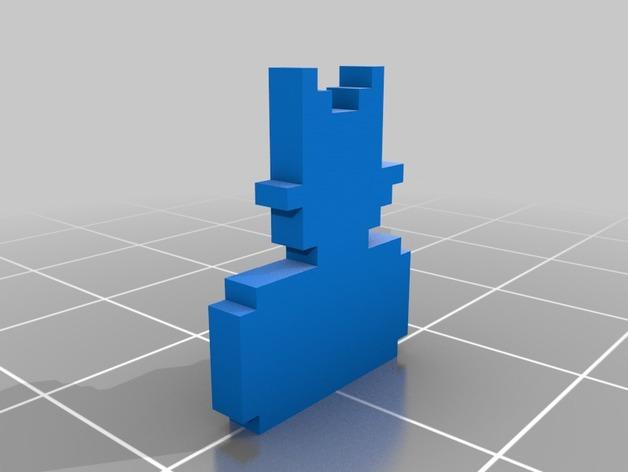 FEZ Gomez菲斯游戏造型模型