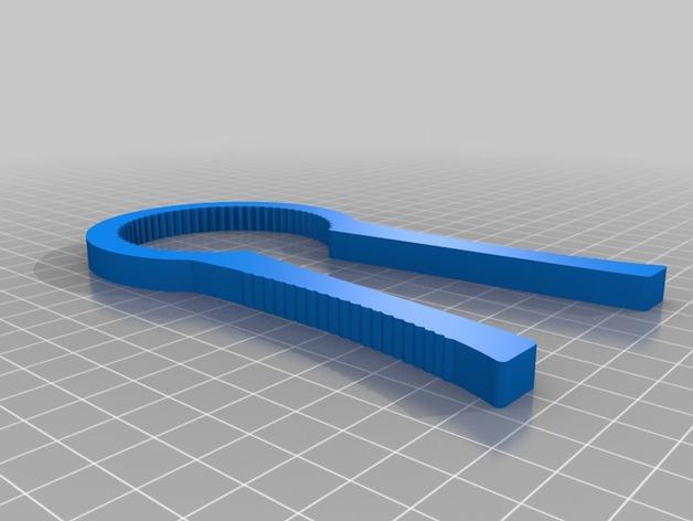 相机滤清器扳手 3D打印模型渲染图