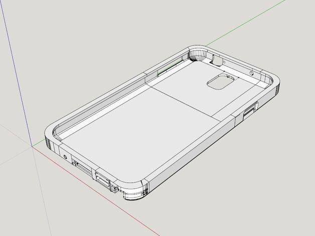 三星Galaxy Note 3手机外壳