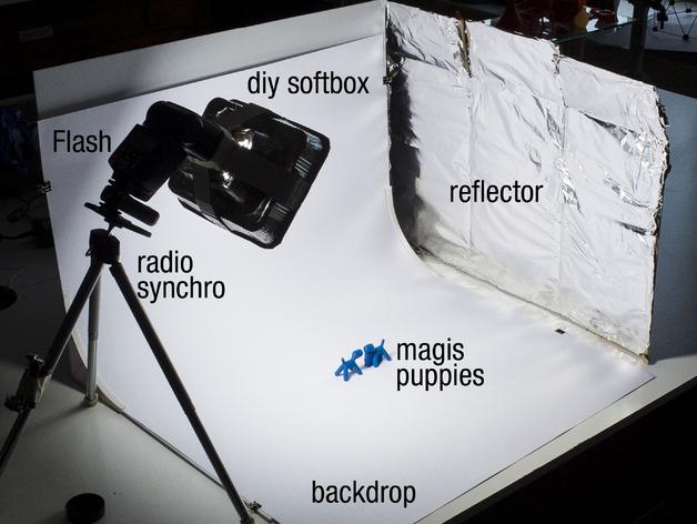 摄像机挡板底座