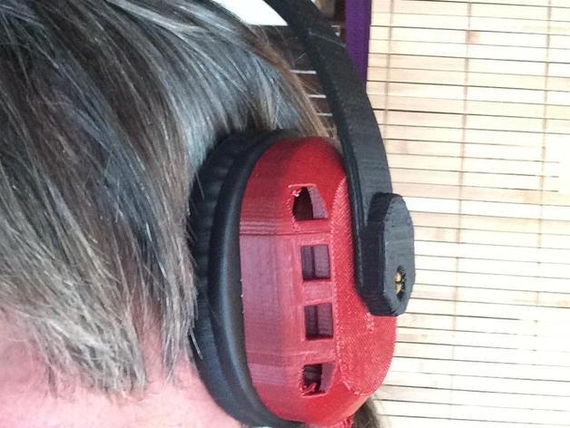 立体音头戴式耳机