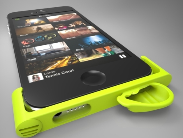 iPhone5手机框扩音器