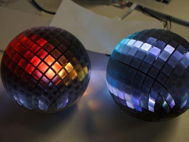 水晶球音箱 3D打印模型渲染图