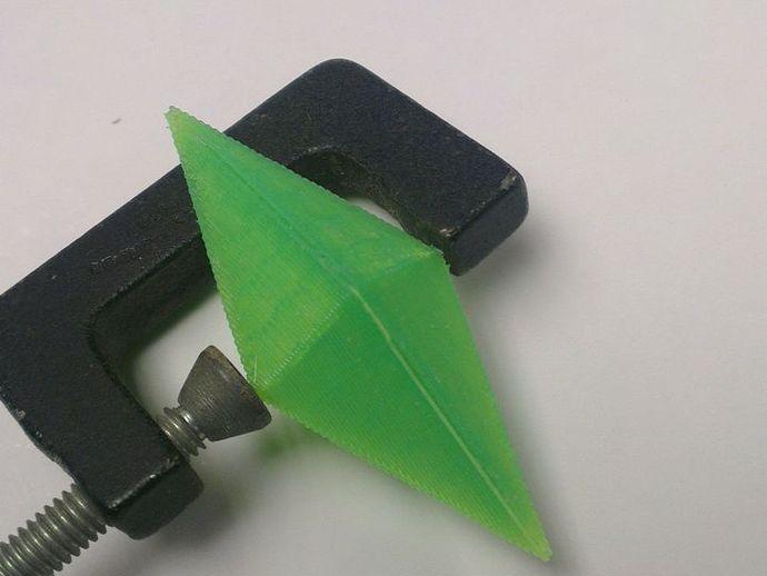 水晶 钻石  3D打印模型渲染图