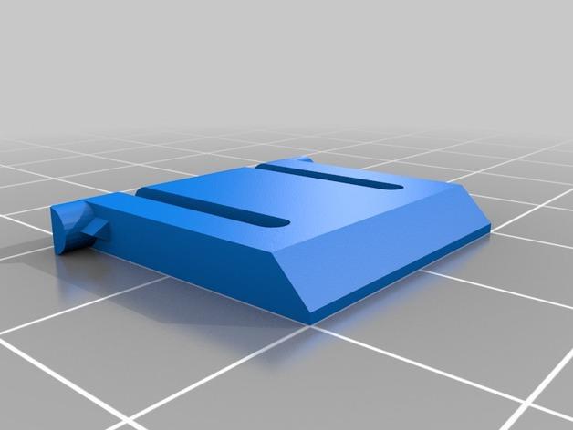 Logitech K360无线键盘支撑腿 3D打印模型渲染图