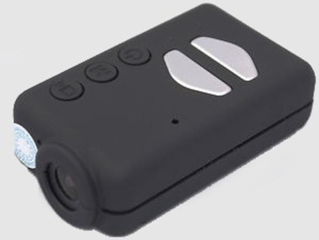 微型空拍摄影机模型 3D打印模型渲染图