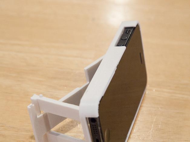 懒人必备带支撑座的iPhone 5手机套