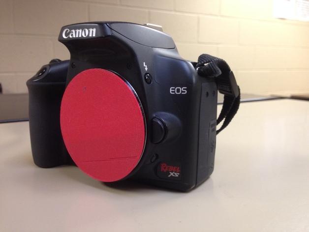 佳能相机镜头盖 镜头罩 3D打印模型渲染图