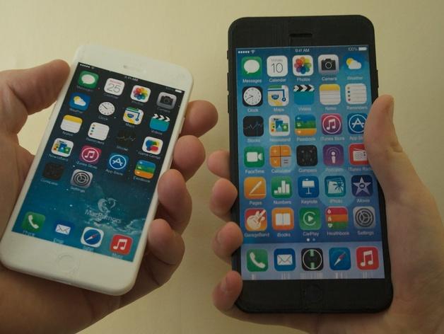 iPhone 6手机模型 3D打印模型渲染图