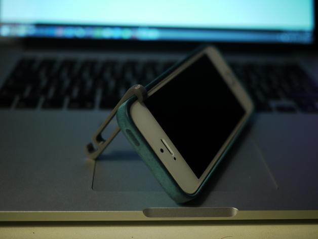 iPhone5/5s 手机支撑架 耳机收纳器
