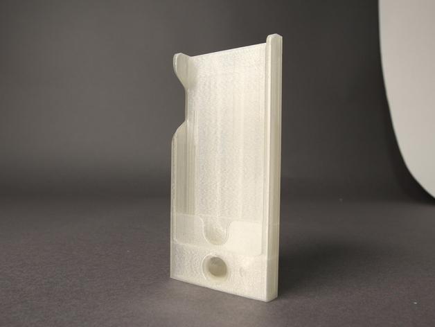 iPhone 5 手机保护外壳 3D打印模型渲染图