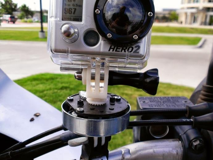 相机支撑架平移装置 3D打印模型渲染图