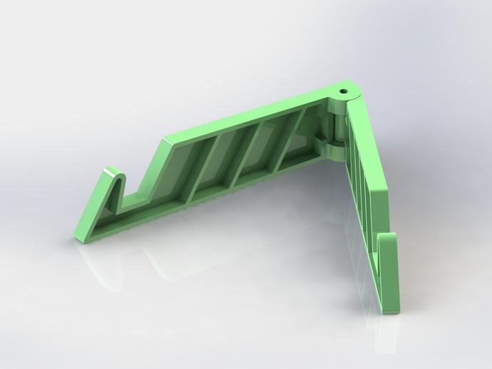 简易的 iPad支架 3D打印模型渲染图
