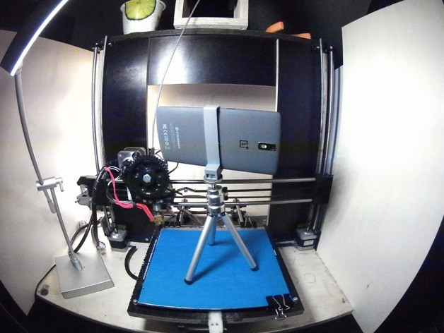 OnePlus一加手机三脚架 3D打印模型渲染图