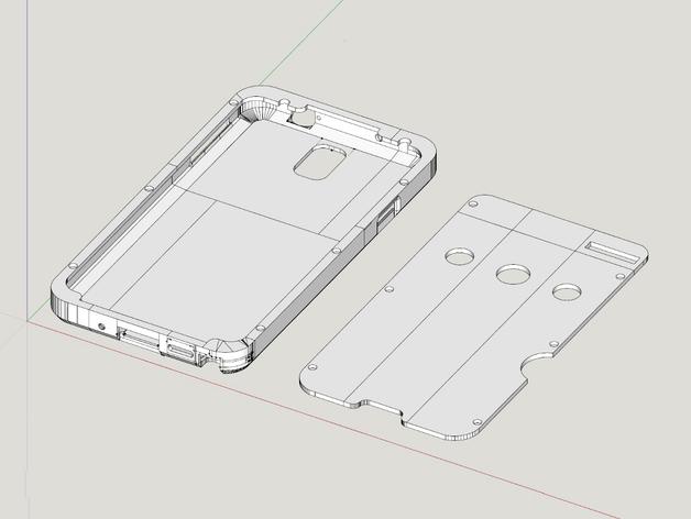 三星Galaxy Note 3外壳