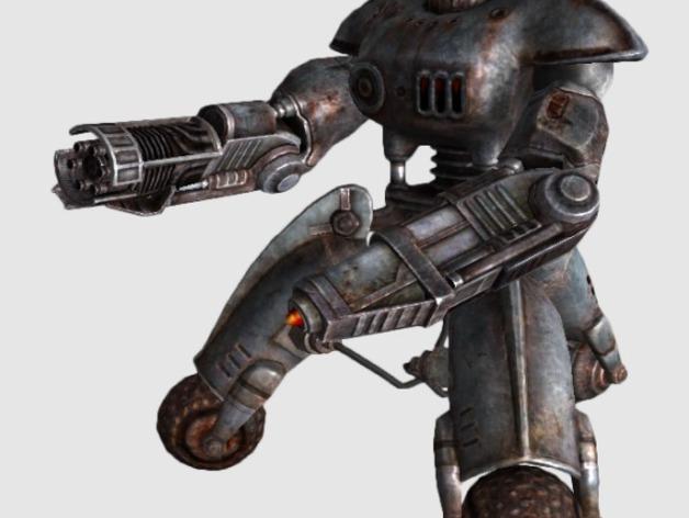 辐射 警戒机器人