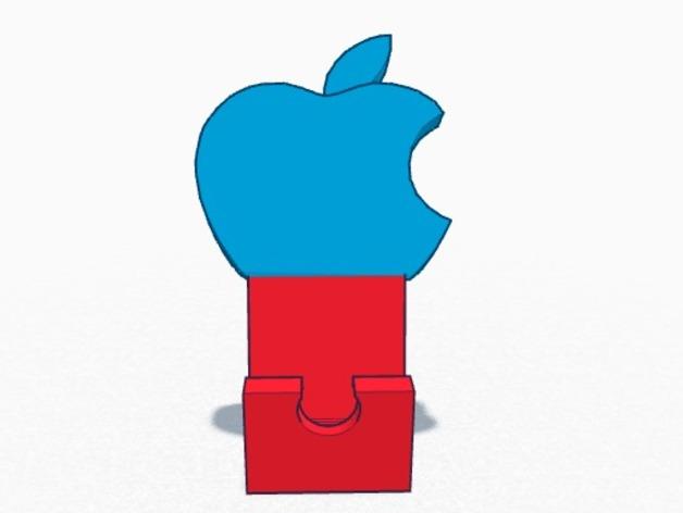 苹果设备站架