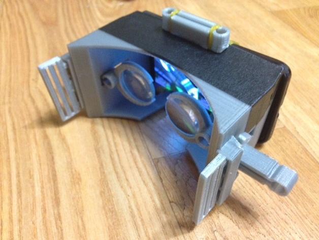 虚拟现实眼镜 谷歌纸盒