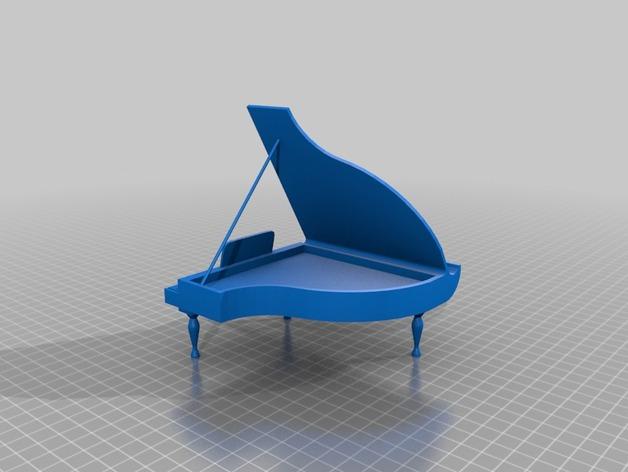 钢琴手机座