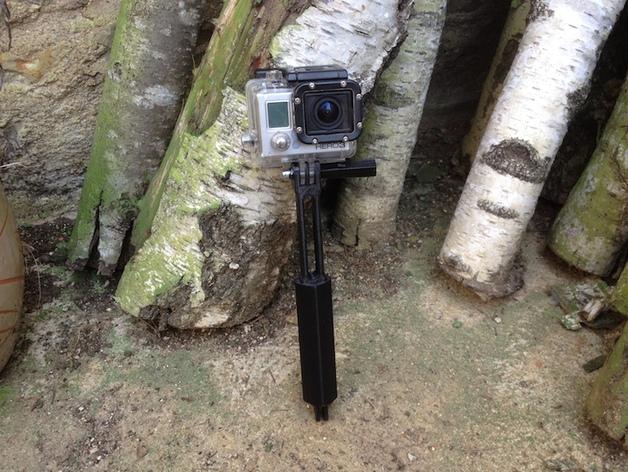 Gopro相机支撑手柄