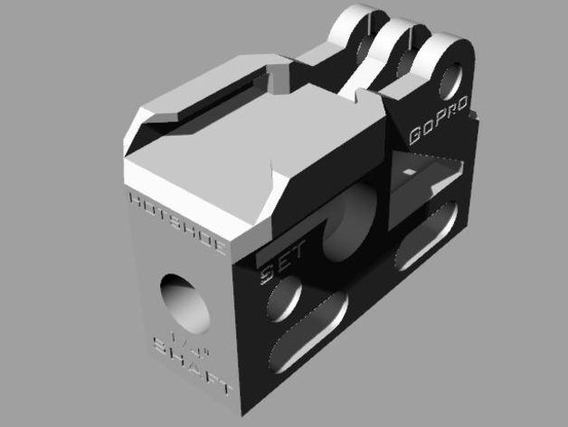 GoPro相机/反光伞连接器