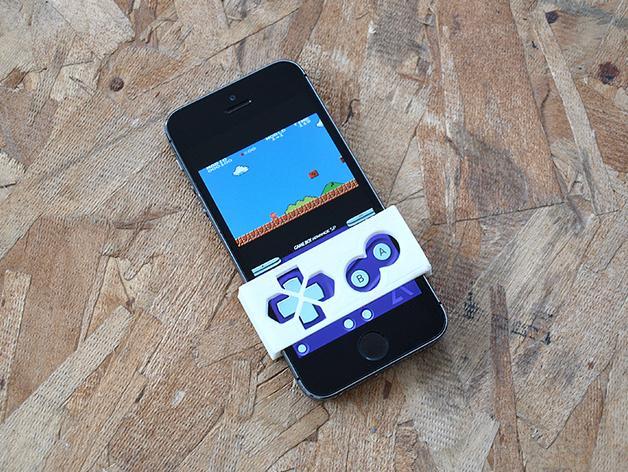 Gameboy 游戏机面板式iPhone手机壳